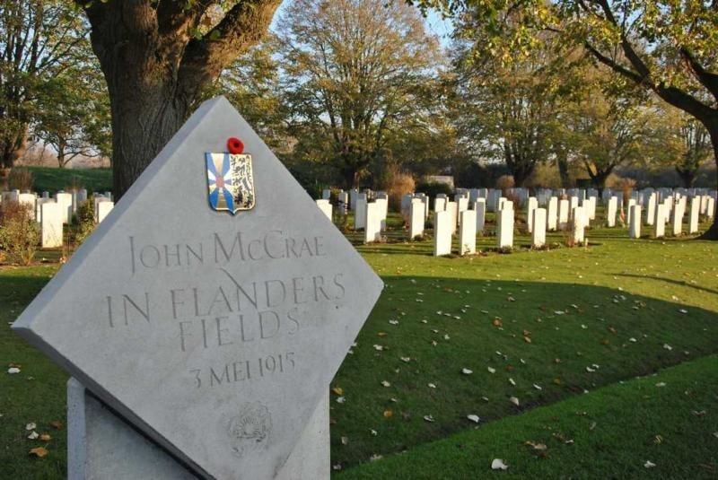 Essex Farm Cemetery - Mat McLachlan Battlefield Tours