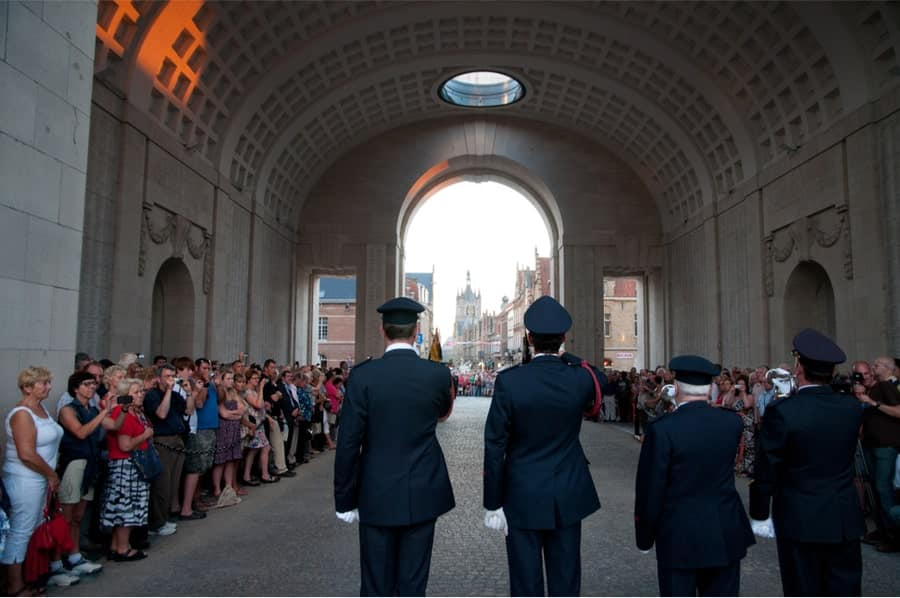 The Last Post Ceremony at the Menin Gate - Mat McLachlan Battlefield Tours