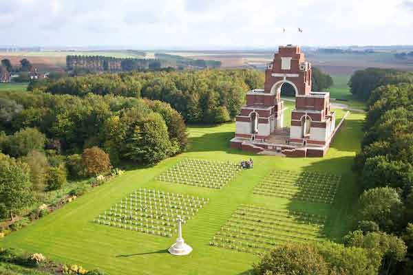 Thiepval Memorial - Mat McLachlan Battlefield Tours
